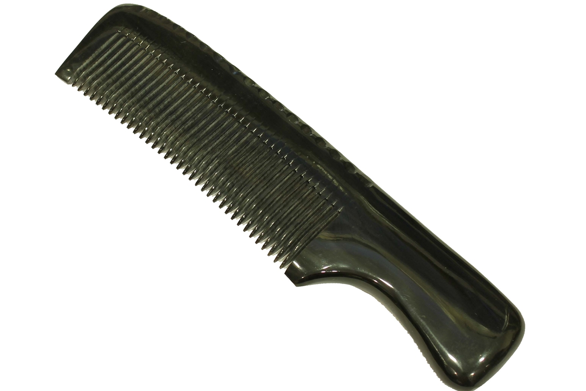 Wood comb for curly hair