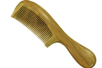 green sandalwood comb wc005