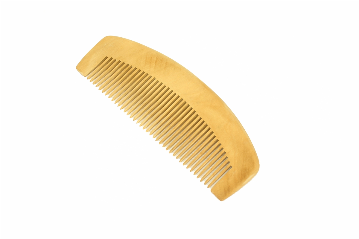 Wholesale Peachwood Hair Amp Beard Comb With Round Back