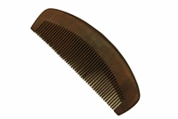 Red Sandalwood Comb with Handle wc0122