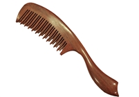mixed tooth purpleheart comb wc013