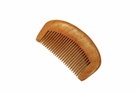 Medium tooth rosewood pocket comb wc016