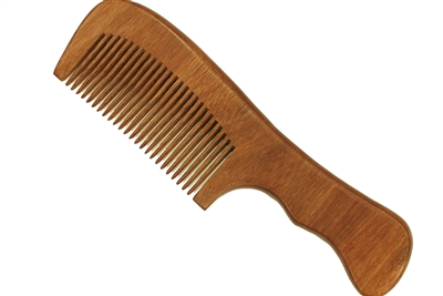Red Sandalwood Comb with Handle wc018