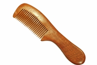 Handmade Rosewood Hair & Beard Comb with Round Handle WC021