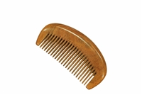 medium tooth brown sandalwood comb wc024