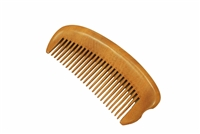 medium tooth brown sandalwood comb wc026