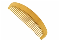 wide tooth peachwood comb wc027