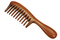 red sandalwood comb wc041