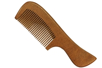 Red Sandalwood Comb with Handle wc047