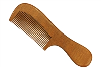 Red Sandalwood Comb with Handle wc048