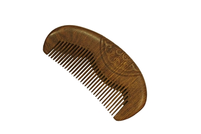 brown sandalwood comb wc049