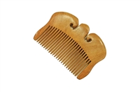 medium tooth rosewood pocket comb wc059