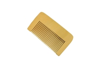 medium tooth boxwood pocket comb.