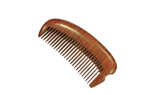 medium tooth purple sandalwood comb wc063