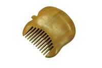 wide tooth rosewood pocket comb