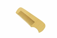 medium tooth boxwood pocket comb wc066