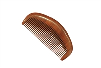 medium tooth purple sandalwood comb wc069