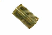 Fine tooth green sandalwood pocket comb wc072