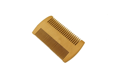 Fine tooth green sandalwood pocket comb wc072pw