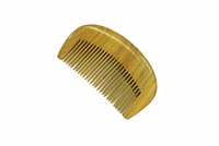medium tooth green sandalwood comb wc073