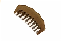 medium tooth red sandalwood comb wc074r