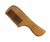 medium tooth red sandalwood pocket comb wc099